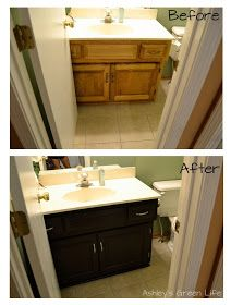 Ashley S Green Life How I Transformed My Kitchen Cabinets For Under