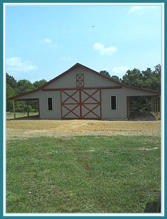 40 X 60 Pole Barn Home Designs
