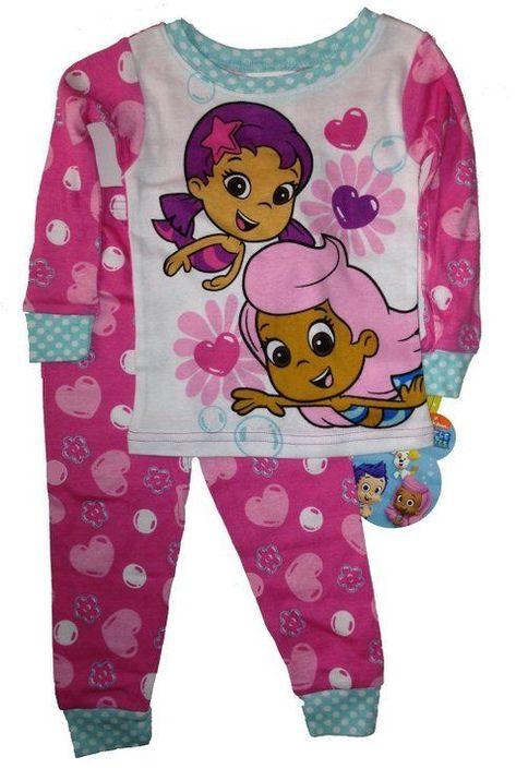 bbb063de2 Nickelodeon Bubble Guppies Toddler Sleepwear Set