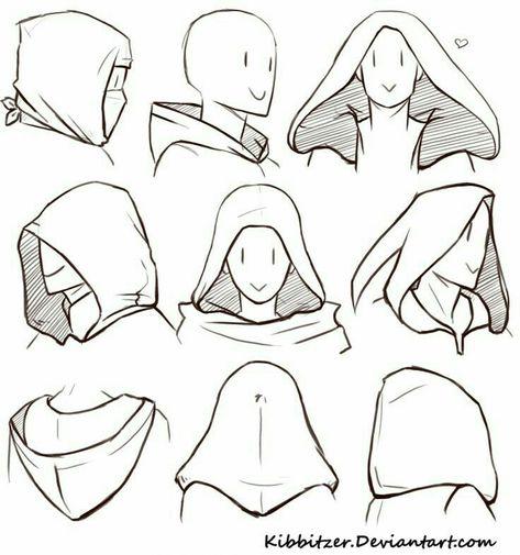 How to Draw a Hood; How to Draw Manga/Anime