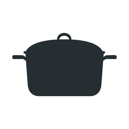 Kitchen Pot Cartoon Saucepan Of To Cooking Vector Illustration Vector Illustration Illustration Vector