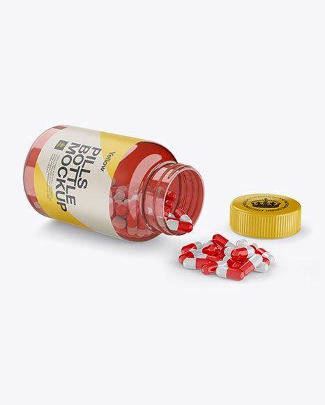 Download Psd Mockup Bottle Bottle Mockup Capsule Capsules Clear Clear Bottle Clear Pill Botttle Clear Mockup Free Psd Bottle Mockup Free Psd Mockups Templates