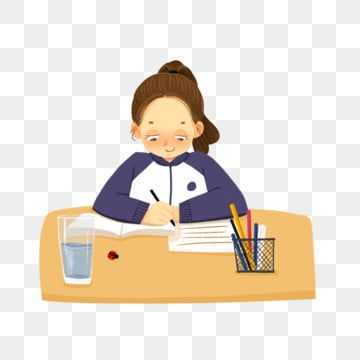 Student Learn Write Homework Thinking About The Problem Writing Clipart Thinking Cartoon Png Transparent Clipart Image And Psd File For Free Download Teacher Cartoon Student Cartoon Student Clipart