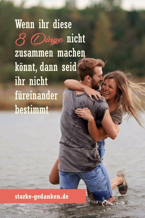 """Wenn ihr diese 8 Dinge nicht zusammen machen könnt, dann seid ihr nicht füreinander bestimmt – Existiert auf dieser Welt wirklich der Begriff """"Seelenverwandte""""? Gibt es wirklich diese eine Person, die dazu bestimmt ist, den Rest ihres Lebens mit dir zu verbringen? #StarkeGedanken #Beziehungen #glücklicheBeziehung #glücklichePaare #Partnerschaft #Schicksal #gemeinsameZeit"""