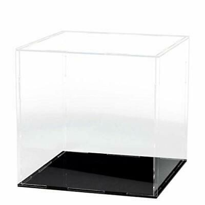 Lanscoery Clear Acrylic Display Case Assemble Countertop Box Cube Organizer S In 2020 Acrylic Display Case Acrylic Display Display Case