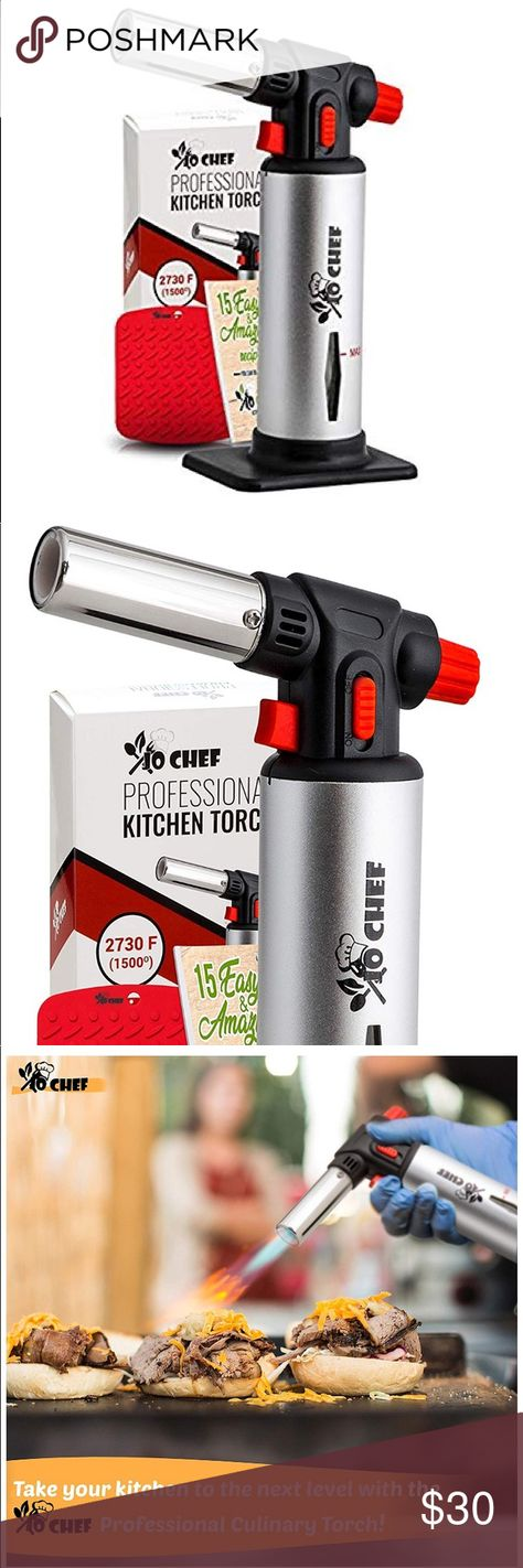Culinary butane torch lighters, kitchen blow torch for cooking with safety. The 25+ best Blow torch for cooking ideas on Pinterest