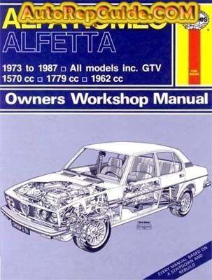 Alfa Romeo Alfetta 1973 1987 Workshop Manual Download Alfa Romeo Sedan Workshop