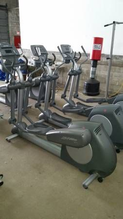 Life Fitness 91xi Elliptical A E S Fitness Fit Life No Equipment Workout Equipment For Sale