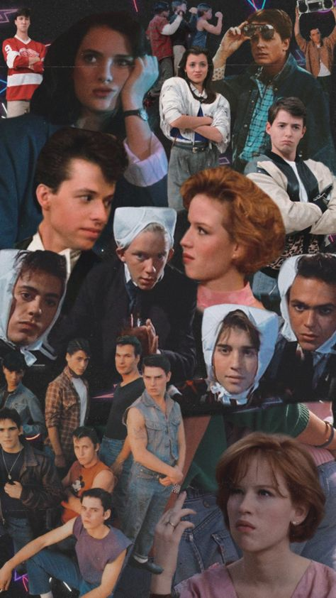 eighties movies aesthetic background