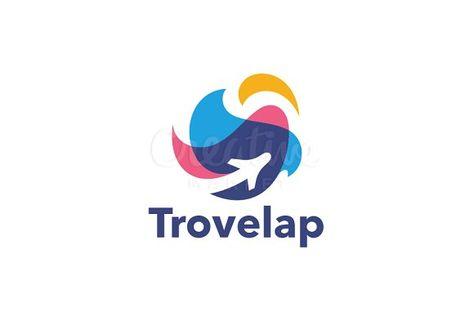 Travel Logo by nospacestore on @creativemarket