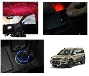 Skoda Yeti Car Interior Star Shadow Light Elantra Car Car Car