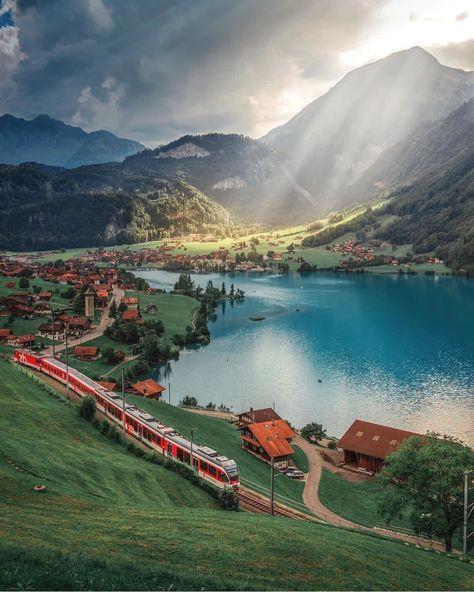 Lungern - Switzerland 💚💚💚 . Pic by ✨@hebenj✨ #bestplacestogo for a feature 💚