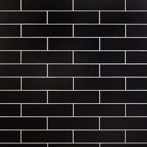 Raven Matte Ceramic Tile - 3 x 12 - 100506146