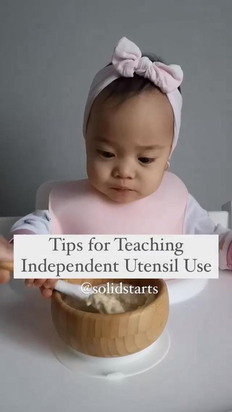 Tips for Teaching Independent Utensil Use