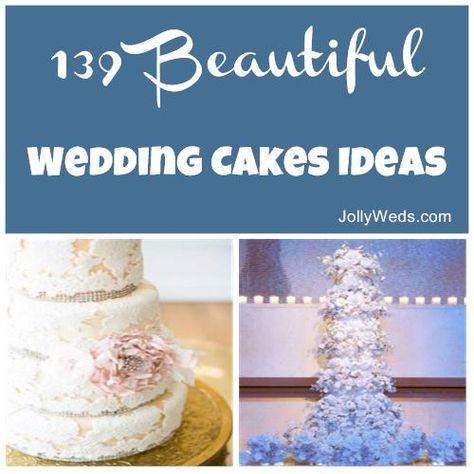139 Beautiful Wedding Cakes Ideas