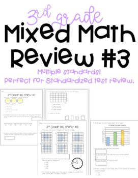 3rd Grade Mixed Skill Review - TNReady and TCAP format ...
