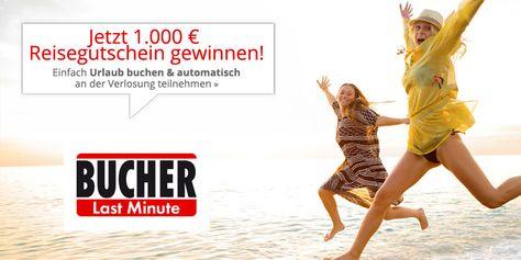 Jetzt 1.000 Euro Reisegutschein gewinnen