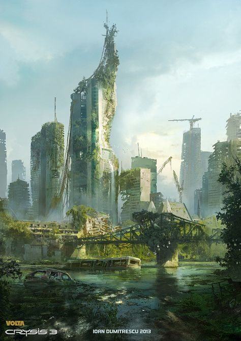 Check out Artist Ioan Dumitrescu for these awesome post apocalyptic images.