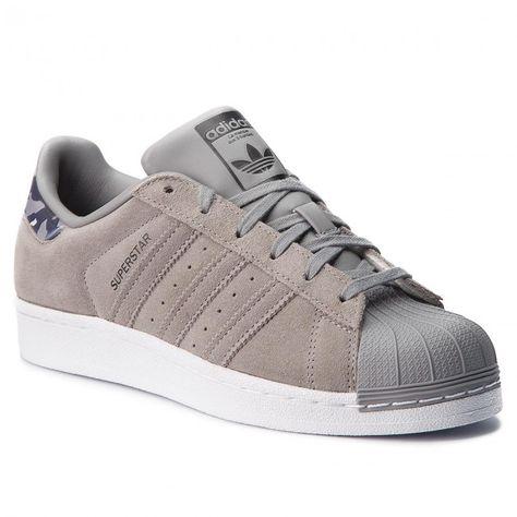 Cipő adidas - Superstar J B37261 Chsogr/Chsogr/Ftwwht