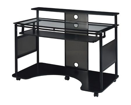 Superb Z Line Designs Mobile Workstation Desk Black By Office Depot Home Interior And Landscaping Ponolsignezvosmurscom