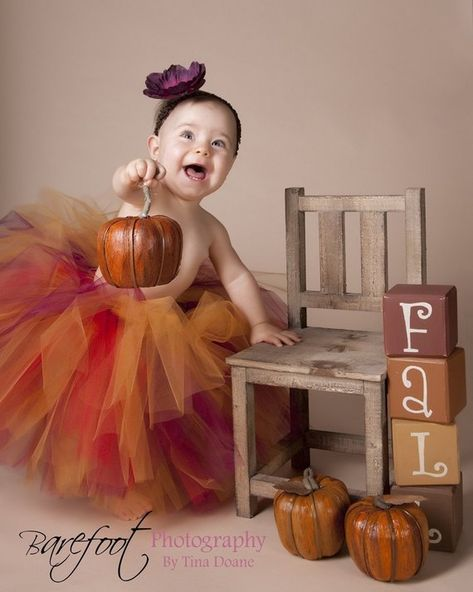 Fall Tutu Set for Baby, Toddler, Girls – Birthday Tutu Skirt – Autumn Glow – Custom Sewn Tutu – sizes Newborn to – Thanksgiving Tutu - Kleinkind Fall Baby Pictures, Baby Girl Photos, Fall Pics, Fall Photos, Newborn Pictures, Birthday Tutu, Girl Birthday, 40th Birthday, Birthday Ideas