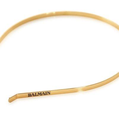 great deals 2017 temperament shoes reasonably priced Lucky Cat Beauty > Balmain Signature Golden Headband ...