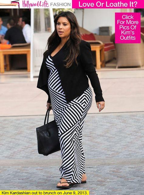 092b08dfa Un embarazo fuera de la aburrida sección premamá con las celebrities ...