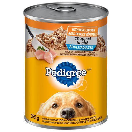 Pedigree Pedigree Wet Chopped Ground Dinner Chicken 375g 400 G
