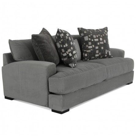 JONATHAN LOUIS CARLIN BELLA GRANITE SOFA - SOFA LIVING ROOM COUCH | Gallery Furniture - Houston TX | Home | Pinterest | Sofa sofa Houston tx and Granite  sc 1 st  Pinterest : jonathan louis burton sectional - Sectionals, Sofas & Couches