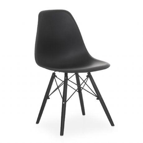Stuhl Wooden Total Black Edition Design Klassiker Dsw Stuhle Dsw Stuhl Design