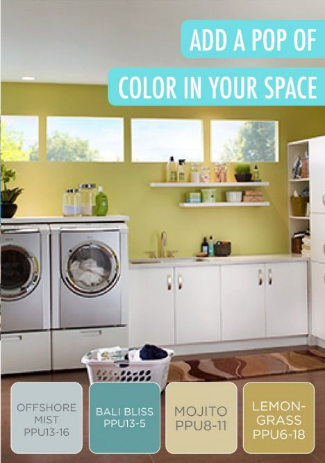 15 Romantic What Color Should I Paint Laundry Room Next To A