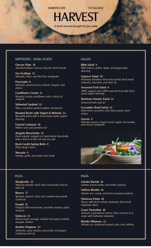 Fine Dining Menu Templates With Elegant Style Musthavemenus Fine Dining Menu Dining Menu Menu Design Template