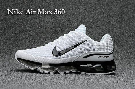 more photos 630b4 2486b Factory Authentic mens Nike Air Max 360 KUP Summit White Black