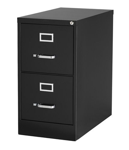 Workpro 26 12 D 2 Drawer Letter Size Vertical File Cabinet Black By Office Depot Officemax Filing Cabinet Metal Filing Cabinet Drawers