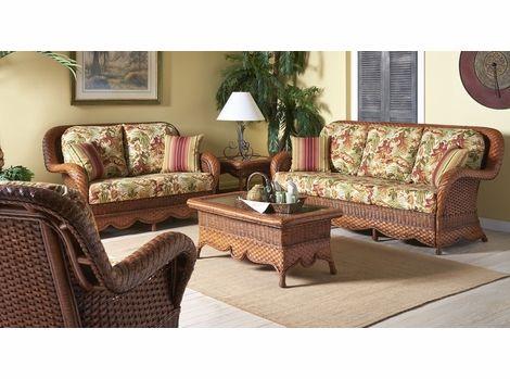 Indoor Wicker Furniture, Sunroom Wicker Furniture Sets