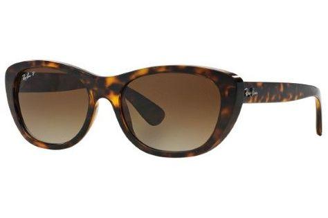 6677f68446f Ray-Ban 0RB4227 710 T5 55 Light Havana Brown Gradient Polar Highstreet  Sunglasses - Bundled Item with Cleaning Kit