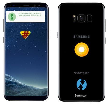 Root Samsung Galaxy Devices Using Twrp Recovery And Cf Auto Root Android Infotech Boost Mobile Mobile Phone Phone