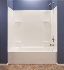 El Mustee 3557744 Durawall Thermoplastic Bathtub Wall Kit 5