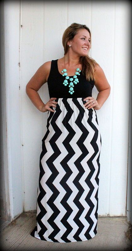 Plus Size Chevron Clothing