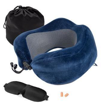 U Shaped Memory Foam Travel Pillow