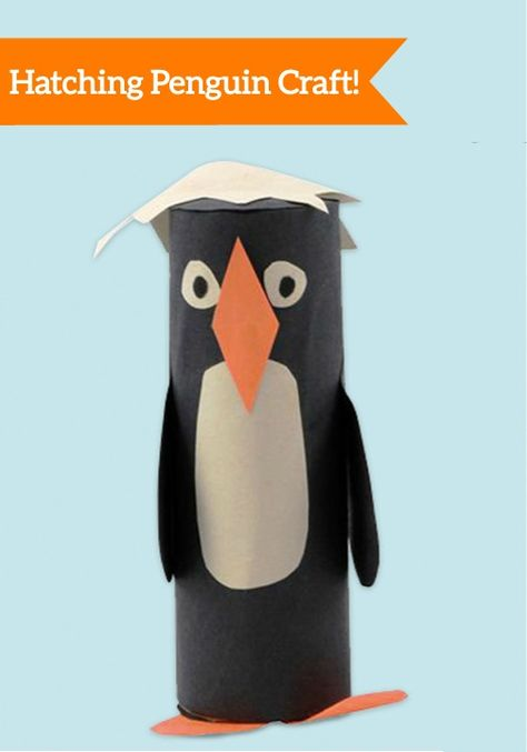 Bring this adorable baby penguin to life in just a few fun and easy steps! Make it an educational craft by teaching them interesting penguin facts.