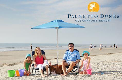 Beach at Palmetto Dunes, Hilton Head Island
