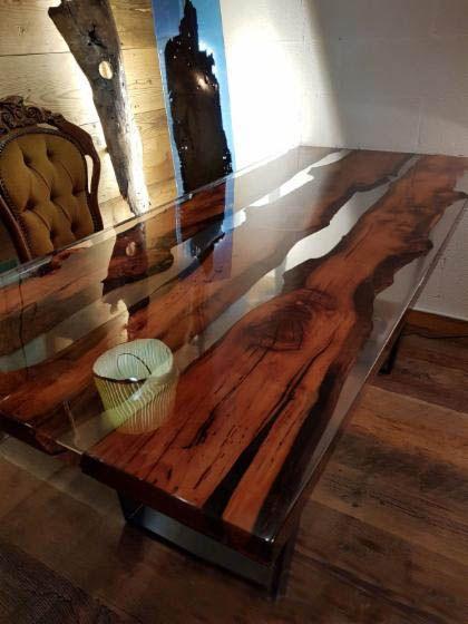 Come Costruire Tavoli E Tavolini In Legno Con Resina Epossidica Una Vita Che Vale Tavolini In Legno Tavoli In Pallet Di Legno Tavolo In Resina