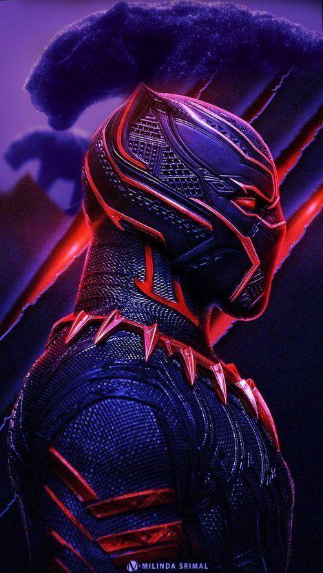 Superhero Hd Mobile 4k Wallpaper Black Panther Marvel Black Panther Art Black Panther Hd Wallpaper