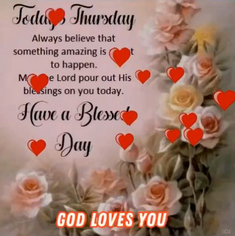 Thursday Spiritual Inspirations Blessings GIF