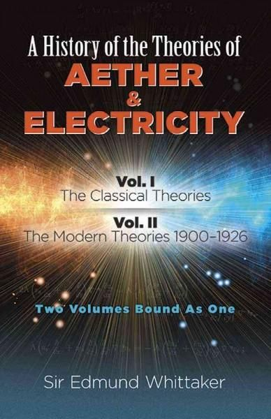A History Of The Theories Of Aether Electricity The Classical