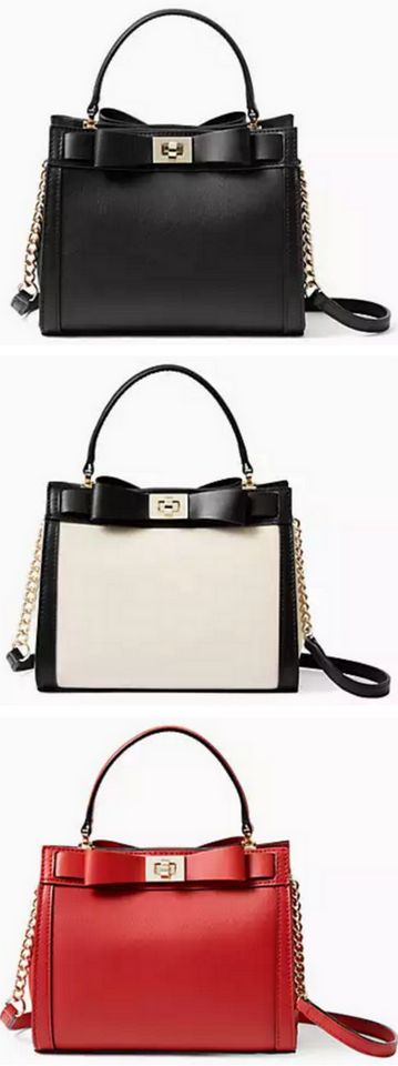 Darling kate spade bow handbags - a steal at only $129!