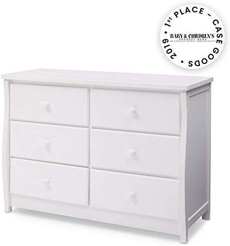 New Delta Children Clermont 6 Drawer Dresser Bianca White Online In 2020 White Bedroom Furniture Modern Storage Bench Bedroom Furniture
