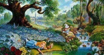 Alice In Wonderland Cartoon Hd Wallpapers Alice In Wonderland Cartoon Cartoons Hd Cartoon Wallpaper Hd