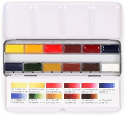 Da Vinci S Original Watercolor Palette Winsor Newton Watercolor